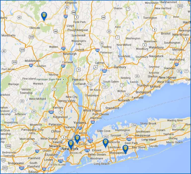 Self Reliance NY Federal Credit Union Locations